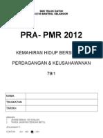 Pra Pmr 2012 - 100 Soalan