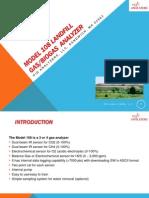 Model 108 Land Fill Gas Analyzer