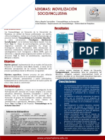 Poster Cap Bucaramanga Paradigmas y Movilizacion Socio Inclusiva