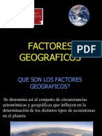 Factores Geograficos