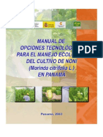 Noni Manual Manejo Ecologico Cultivo