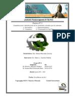 Practica Nº II Cuantificación e identificación de los alcaloides extraídos por los métodos