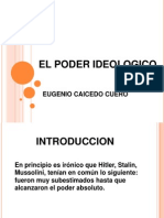 El Poder Ideologico