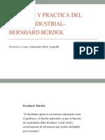 Protocolo Historia  y Practica del diseño industrial- Bernhard Bürdek
