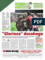 Tapa del suplemento Podio del diario LA MAÑANA de Córdoba.