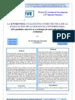 Mayorga 2004entrevista Cualitativaen Docencia Uni 2451-2