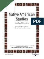 23626033 Native American Studies Catalog of Microform