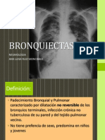 Bronquiectasia