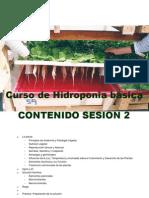 Sesion 2 Curso de Hidroponia