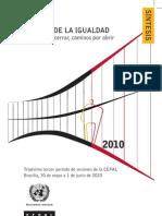 CEPAL (2010) - La Hora de La Igualdad