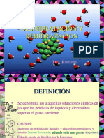DESHIDRATACION