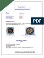 A HMS Report1