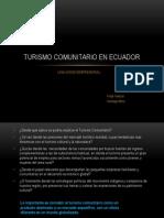 Turismo Comunitario en Ecuador Final