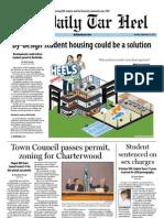 The Daily Tar Heel for September 25, 2012