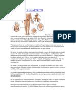 Ganoderma y La Artritis