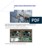 Cara Pasang Dan Setting Wireless Mikrotik Point to Point Jangkauan 40 Km