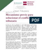 12-12 Mecanismo Previo Para Solucionar El Conflicto Tributario