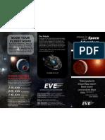 Brosur Wisata Luar Angkasa/Space Travel Brochure