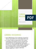 Green Washing Arun g