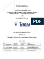 Bsc Mgt IT Project Proposal Correction
