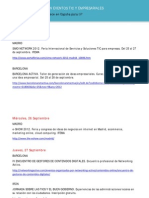 Agenda Vigiliam eventos TIC 25-09-12