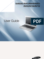 Samsung RV413 Manual