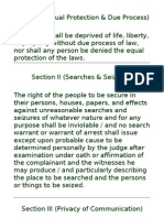 Bill of Rights (Memo Cards)