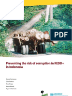Preventing the Risk of Corruption in REDD+ . CIFOR. 2011