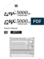YAMAHA EMX5000E manual