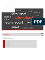 USP-D 360 Degree Feedback Group Report ZP12