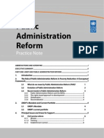 Public Administration Reform (1)