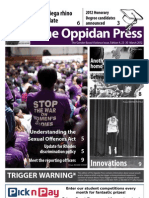 The Oppidan Press - Edition 4 - 2012