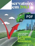 Observatoire Cetelem Automobile 2013
