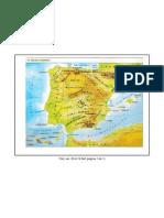 Mapa relleu Espanya