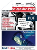The Oppidan Press - Edition 5 - 2012