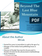 Beyond the Last Blue Mountain- book review