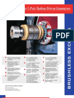 2-Pole Turbine Driven Generators_Brushless Excitation