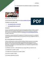 20120913-EU-Directive oeuvres orphelines-Analyse du texte voté au Parlement européen
