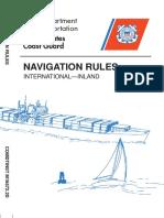 Navigation Regulations COLREGS