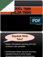 MODEL HILDA TABA Pembentangan Zihayanadiladinisue