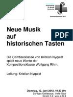 2012 06 12 NeueMusihistorischeTasten Programm