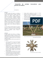 Proyecto Uniones para Estructuras Temporales de Madera.