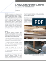 Ficha técnica del proyecto CELLUWOOD