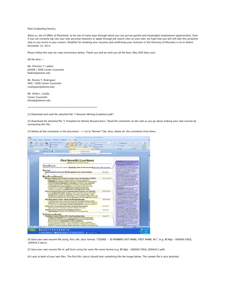 Beautiful Proper Resume File Name Photos Example Resume And