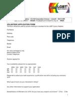 volunteer application form 2012