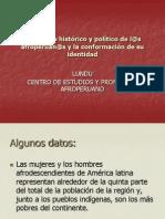 Proceso Historico de Los y Las Afroperuanos