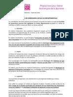 Livre Blanc Etats Généraux de la Jeunesse 92 - Focus - Propositions Locales et Départementales