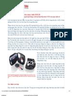 Chùi cảm biến ảnh cho máy ảnh DSLR
