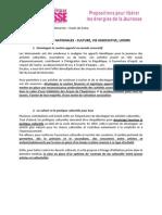 Livre Blanc Etats Généraux de la Jeunesse 92 - Focus - Propositions Culture, Vie Associative et Loisirs