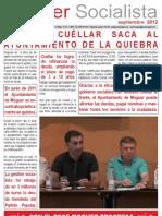 Moguer Socialista Septiembre 2012